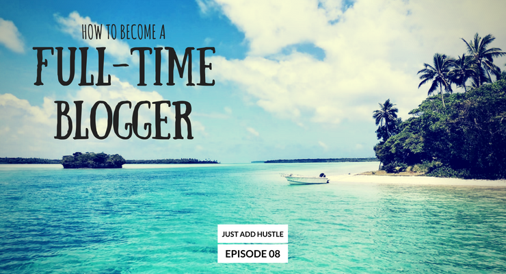 JAH 8: Ryan Biddulph On How To Become A Full-Time Blogger